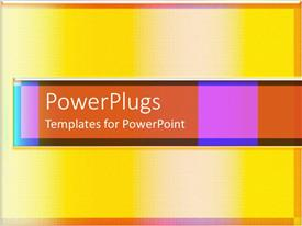 PowerPlugs: PowerPoint template with lots of tiny squares forming yellow and peach colored shades