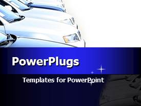 PowerPlugs: PowerPoint template with the manufacturing of cars and auto-parts