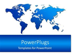 PowerPlugs: PowerPoint template with the Map