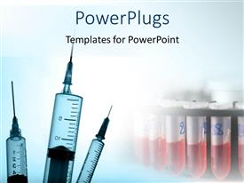 PowerPlugs: PowerPoint template with medical Advancement