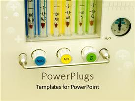 PowerPlugs: PowerPoint template with medical related products with pinkish background