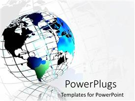 globe powerpoint templates | crystalgraphics, Powerpoint templates