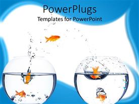 PowerPlugs: PowerPoint template with a motivation concept with white background