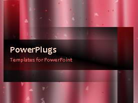 PowerPlugs: PowerPoint template with a moving background with a lot of lines and place for text