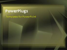 PowerPlugs: PowerPoint template with a moving background with a sentence