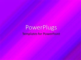 PowerPlugs: PowerPoint template with a multicolored background with lines and place for text