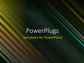 PowerPlugs: PowerPoint template with a multicolored background and place for text