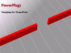 PowerPlugs: PowerPoint template with a number of arrows with greyish background