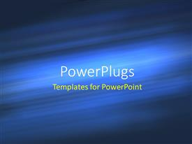 PowerPlugs: PowerPoint template with a number of bluish lines in the background with place for text