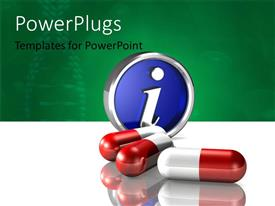 PowerPlugs: PowerPoint template with a number of capsules with the word i