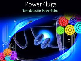 PowerPlugs: PowerPoint template with a number of cells trying to connect with each other