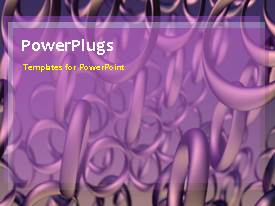 PowerPlugs: PowerPoint template with a number of chains with bluish background