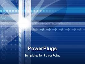 PowerPlugs: PowerPoint template with a number of circles and arrows with place for text