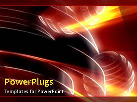 PowerPlugs: PowerPoint template with a number of circles with bullet points and place for text