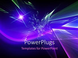 PowerPlugs: PowerPoint template with a number of colors in the background with place for text