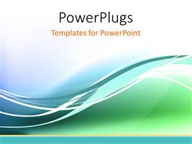 PowerPlugs: PowerPoint template with a number of colors in the background with a place for text