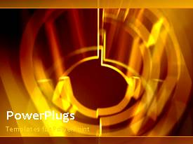PowerPlugs: PowerPoint template with a number of designs with a reddish background