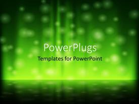 PowerPlugs: PowerPoint template with a number of dots in the background