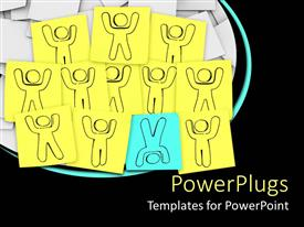 PowerPlugs: PowerPoint template with a number of figures in the form of drawings