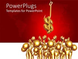 PowerPlugs: PowerPoint template with a number of figures ready to catch the dollar sign