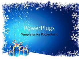 PowerPlugs: PowerPoint template with a number of gifts and signs for Christmas celebrations