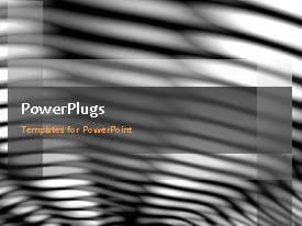 PowerPlugs: PowerPoint template with a number of grayish lines with a bullet point and place for text