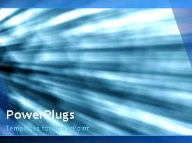 PowerPlugs: PowerPoint template with a number of light rays in the background