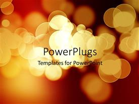 PowerPlugs: PowerPoint template with a number of lights with place for text