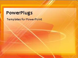 PowerPoint template displaying a number of lines in the background