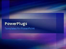PowerPlugs: PowerPoint template with a number of lines in background with a bullet point