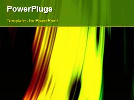 PowerPlugs: PowerPoint template with a number of lines with blackish background