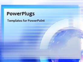 PowerPlugs: PowerPoint template with a number of lines with a circle in background