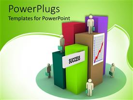 PowerPlugs: PowerPoint template with a number of people on different places