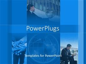PowerPlugs: PowerPoint template with a number of people doing various activities