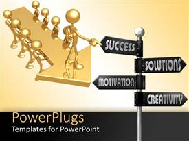 PowerPlugs: PowerPoint template with a number of people with a number of options