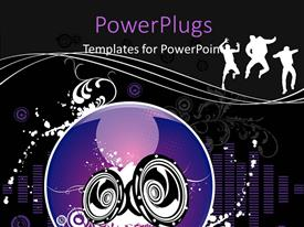 PowerPlugs: PowerPoint template with a number of people with a number of speakers