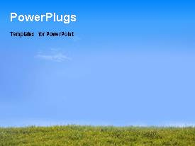 PowerPlugs: PowerPoint template with a number of people presenting the solution to a problem