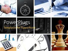 PowerPlugs: PowerPoint template with a number of professional environment and games
