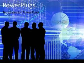 PowerPlugs: PowerPoint template with a number of professionals with moon in the background