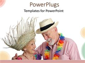 Senior citizen powerpoint templates crystalgraphics powerplugs powerpoint template with an old couple together with clear background toneelgroepblik Image collections