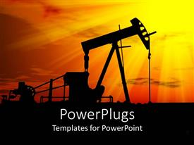 PowerPlugs: PowerPoint template with petroleum Industry Development