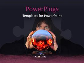 PowerPlugs: PowerPoint template with and pf number of payers of human hands