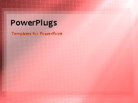 PowerPlugs: PowerPoint template with a pinkish background with a number of boxes