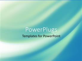 PowerPlugs: PowerPoint template with a plain abstract background of blue and white strokes