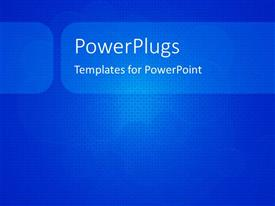PowerPlugs: PowerPoint template with a plain blue and white tile with lots of tiny cubes
