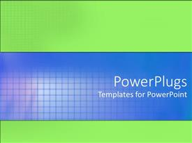 PowerPoint template displaying a plain white background with six lines of texts