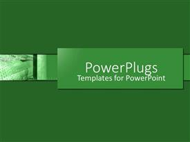 PowerPlugs: PowerPoint template with a plain off white colored background surface tile with a currency note