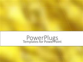 PowerPlugs: PowerPoint template with a plain off yellow colored background with some lines