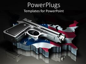 PowerPoint template displaying power of America