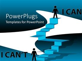 PowerPlugs: PowerPoint template with the power of self confidence to achieve the goal